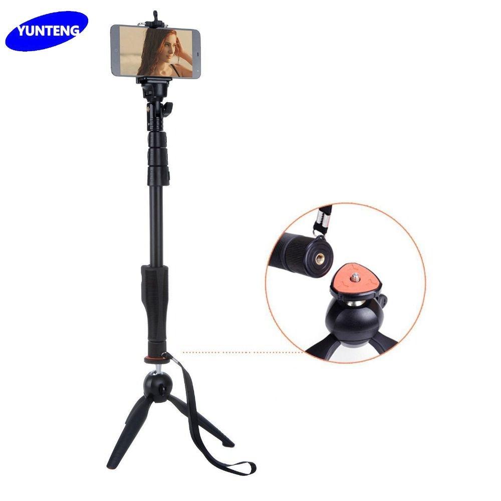 Yunteng YT-1288 & 228 mini stojalo za stativ Bluetooth daljinski - Kamera in foto - Fotografija 1