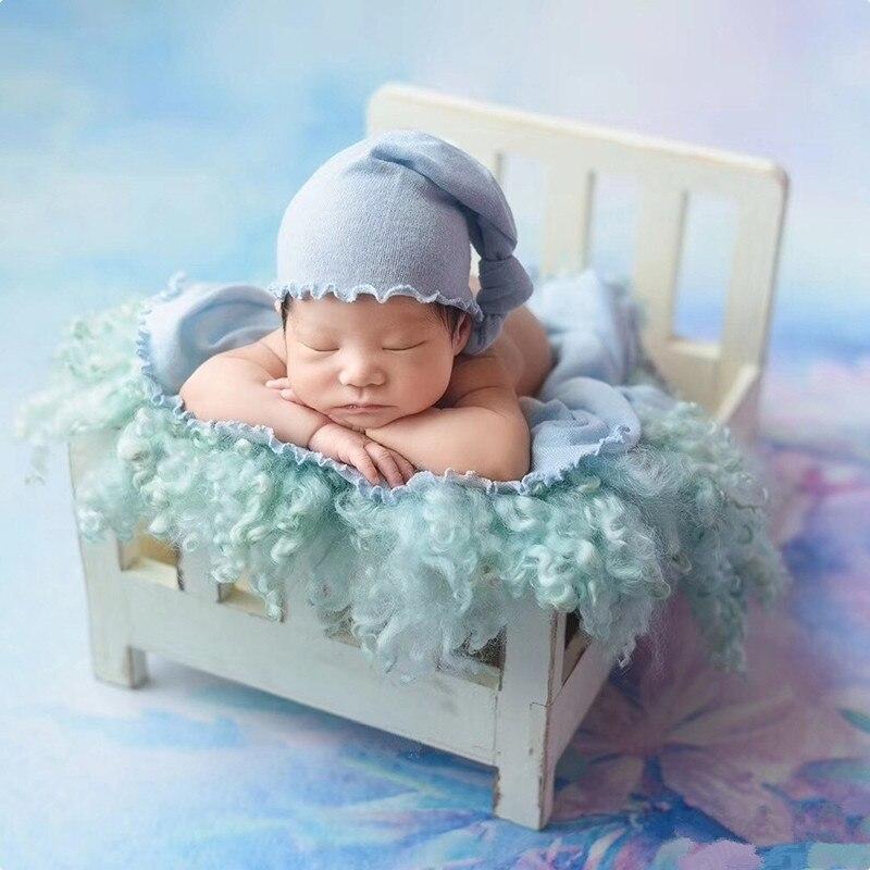 Foto do bebê adereços recém nascidos fotografia de madeira destacável cama para foto shoot acessórios de madeira infantil fotografia adereços cesta sofá|Chapéus e bonés| |  - title=