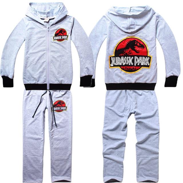 7796e0972 2015 New Kids Jurassic World Clothing Sets Children Spring Autumn ...