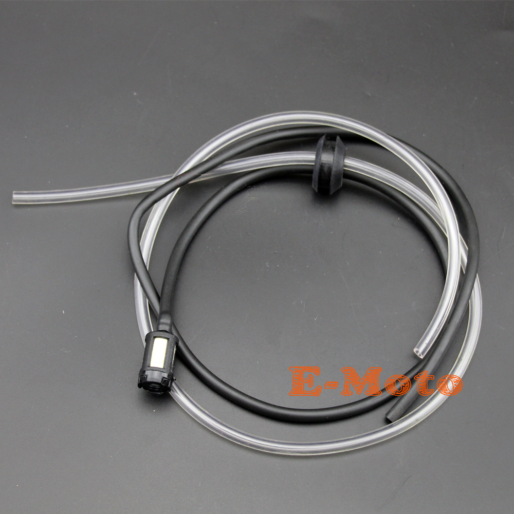 Fuel Line Gas Hose Filter For Chinese 43 49 cc Mini 2 Stroke Pocket Bike Scooter