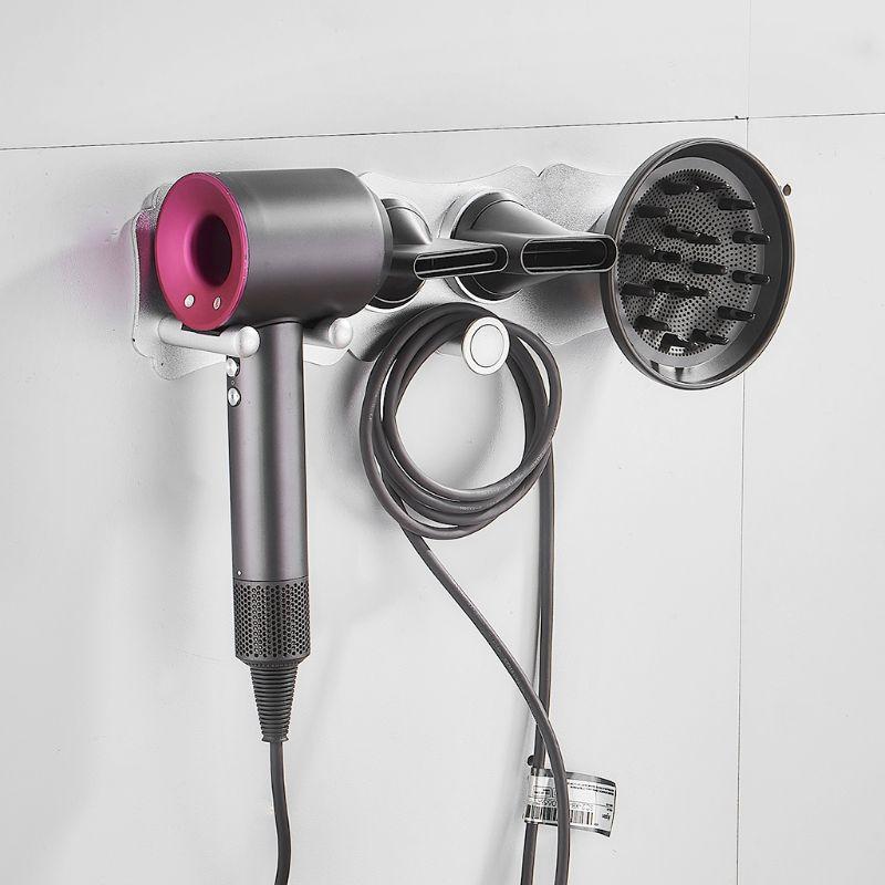 Hairdryer Holder Wall Mounted Storgae Rack Bathroom Shelf For Dyson Supersonic Hair Dryer