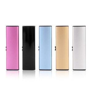 Image 3 - Livraison gratuite bande USB briquet Rechargeable électronique briquet métal allume cigare sans flamme Double face cigare Plasma