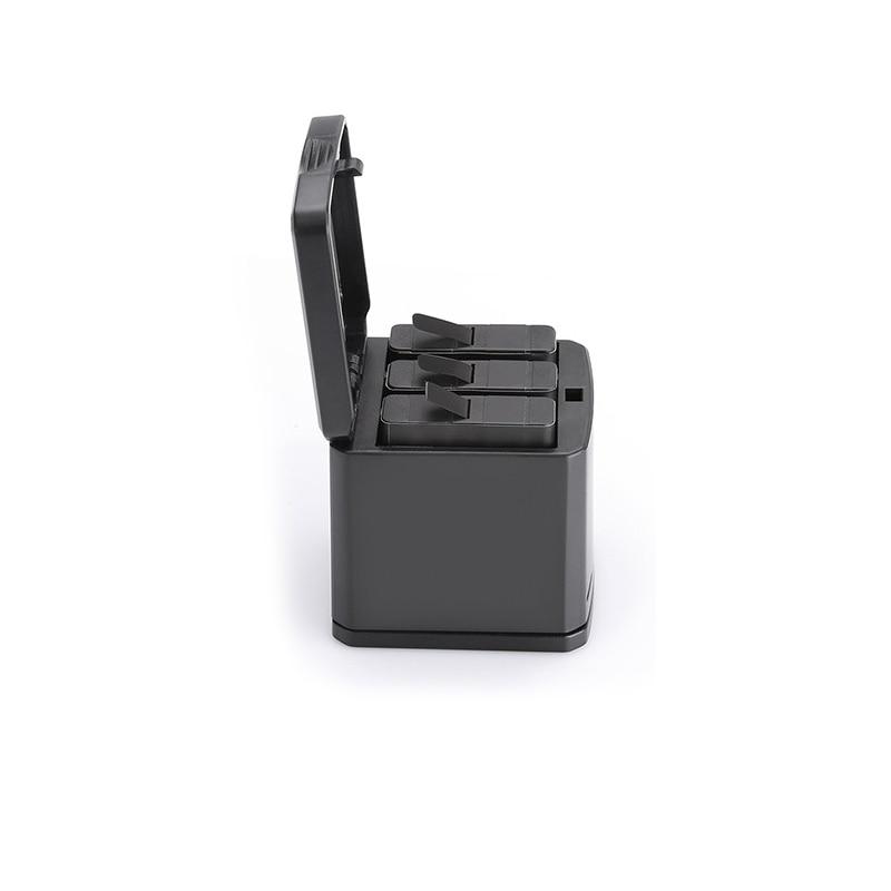 1pcs 3-way Battery Charger Charging Storage box + 2pcs 1220MAH AHDBT-501 Batteries For GoPro Hero 5 7 Black Hero 6 Camera (9)