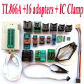 TL866A программист 16 адаптеры + IC ЗАЖИМ Высокая скорость TL866 AVR PIC Bios 51 MCU Flash EPROM Программист Русский Английский руководство