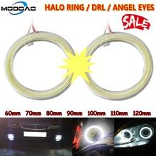 1pcs Car Angel Eyes Led Car Halo Ring Lights Led Angel Eyes Headlight Headlight Lamp DRL 12V Car LED Fog light Angel Eyes Light