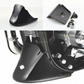 New Black Front Bottom Spoiler Mudguard Fits For Harley Sportster 883 1200 XL Iron  2004-2015 Free Shipping