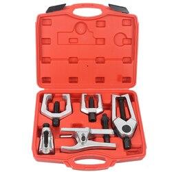 5 w 1 przedni koniec narzędzie serwisowe zestaw PRZEGUB KULOWY drążka kierowniczego kolumna kierownicza ściągacz usuwania głowica kulowa Extractor do naprawy samochodu narzędzia