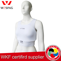 Free Shipping Wkf Approved Women Karate Chest Protector For Competition And Trainning