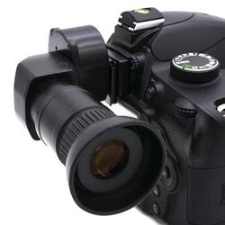 Nowy celownik celowniczy 1.25x 2.5X prawy celownik kątowy wizjer do aparatu Canon/for/Pentax w Wizjery od Elektronika użytkowa na