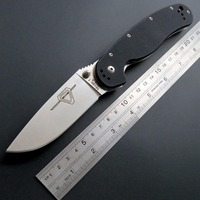 Best Quality R1 Tactical Folding Knife AUS 8 Blade Steel Pocket Knives G10 Handle Outdoor Tool