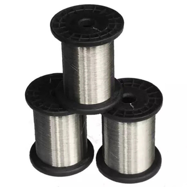 0.1mm hard condition Bright Smooth Surface 100 meters SS304 Stainless Steel Wire Spools