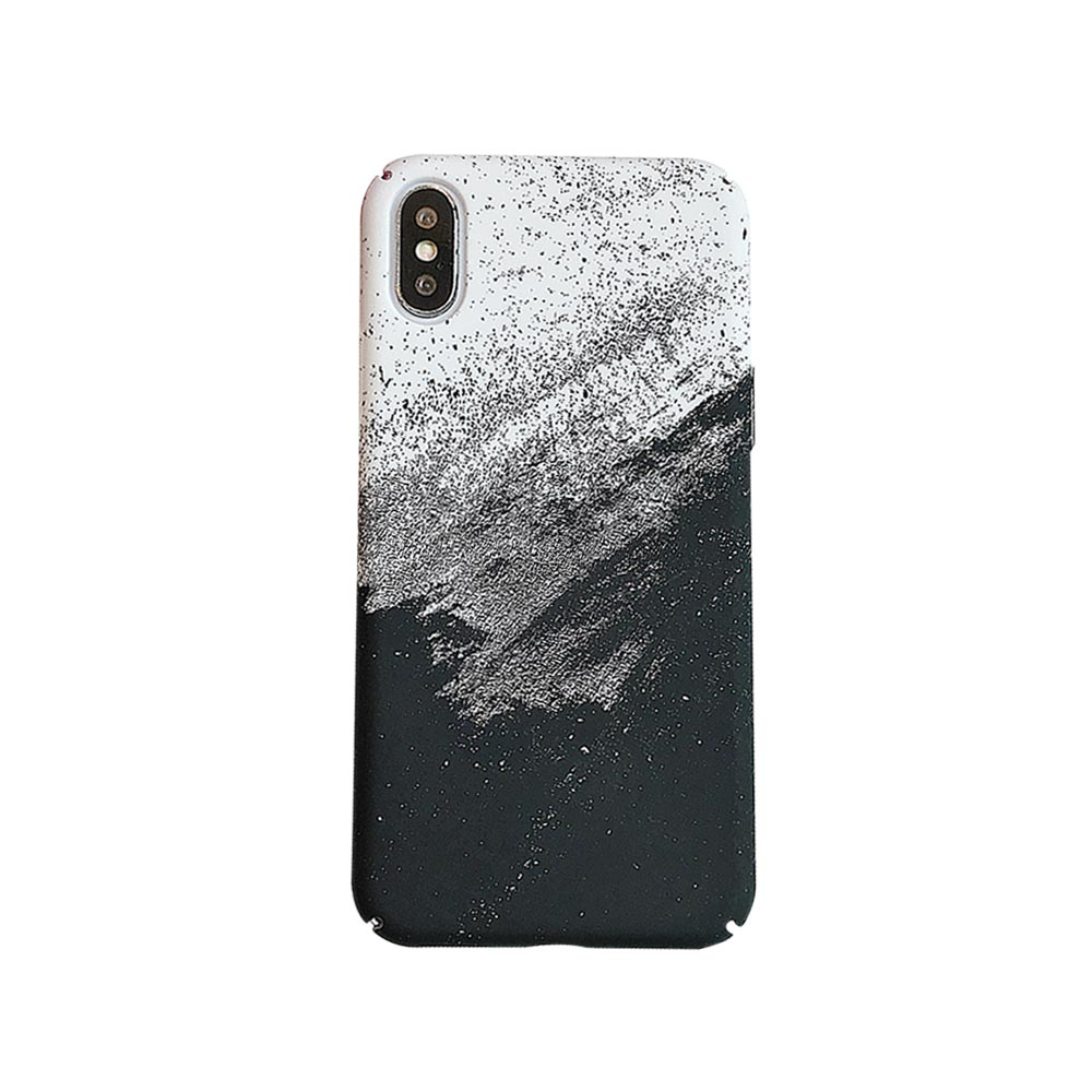 KISSCASE Landscape Scenery Painted Case For iPhone 7 8 Plus 5 5s Hard PC Case For iPhone X XR XS XS MAX Back Cover Coque Fudna