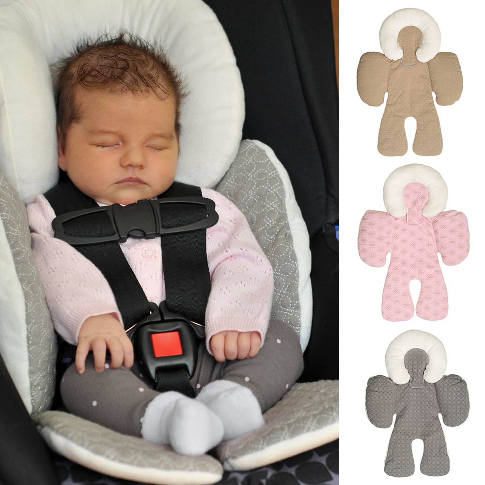 Us 17 48 Infant Baby Car Seat Cushion Mats Children Strollers Pram Head Body Support Pad Kids Chair Protection Seat Accessories In Strollers