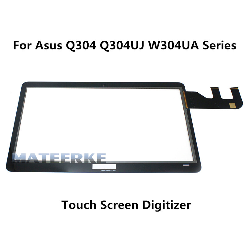 13.3 inch Laptop Touch Screen Digitizer Front Panel For Asus Q304 Q304UJ Q304UA series new 13 3 touch glass digitizer panel lcd screen display assembly with bezel for asus q304 q304uj q304ua series q304ua bhi5t11