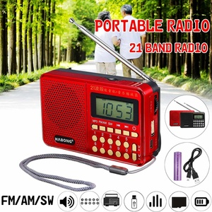 Portable Radio FM/AM/SW 21 Ban