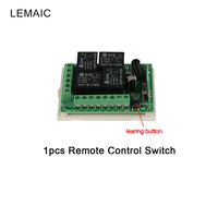 433MHz 4 Channel Remote Control Switch Wireless Relay Receiver Module Remote 12V Relay Control