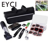 EYCI 16 In 1 Bicycle Repair Tool Set Portable High Quality Bike Repair Kit With Saddle