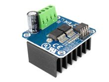 Double BTS7960 43A H-bridge High-power Motor Driver module/smart car/