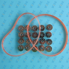20 BOBBINS + 2 BELTS FOR SINGER FEATHERWEIGHT SEWING MACHINE 221 222 301 #45785 20 PCS+194144 2 PCS