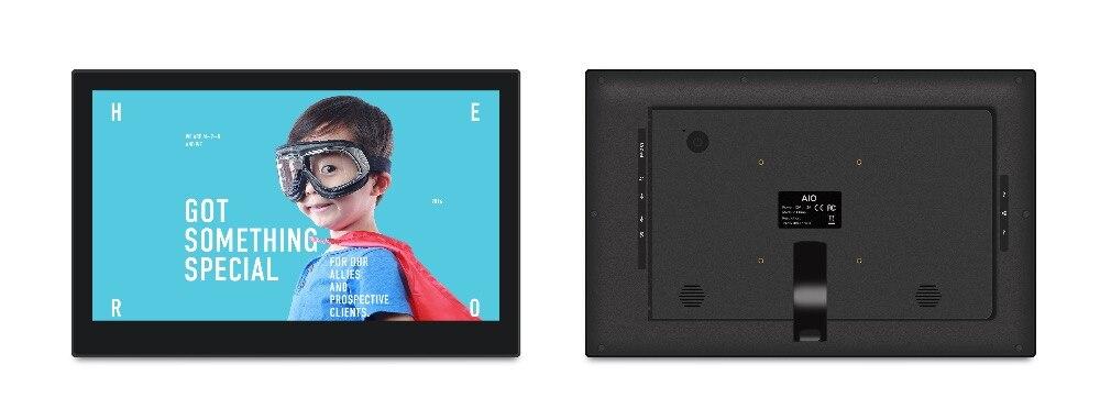 Kiosco táctil Android de 14 pulgadas HEXA Core/pantalla POS todo en uno (RK3399, 3,5 GHz, 2GB DDR3, 16GB nand, Android7.1, 2,4G/5G wifi) - 2