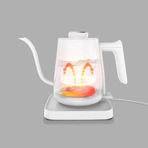 Image 5 - YOULG מים קומקום חשמלי קפה סיר חימום בקרת טמפרטורה אוטומטי כבוי הגנה Wired קומקום 220V