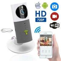 HD 720 P Inteligente Cão Collar Cleverdog Wi fi de Segurança Em Casa CCTV Câmera IP Monitor Do Bebê Cinza|Monitores de bebê| |  -