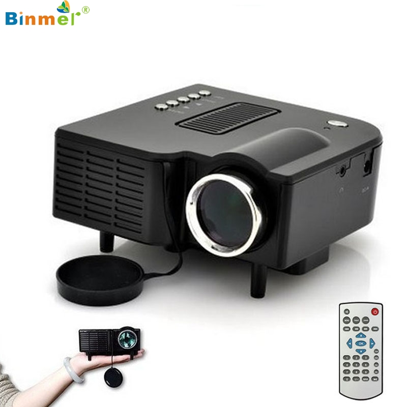 Venta superior! 2017 Popular HD 1080 P LED Mini Proyector Multimedia Cine Cine e