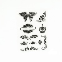Decor Funny Lace Transparent Clear Stamp DIY Silicone Seals Scrapbooking/card Making/photo Album Decoration Supplies.
