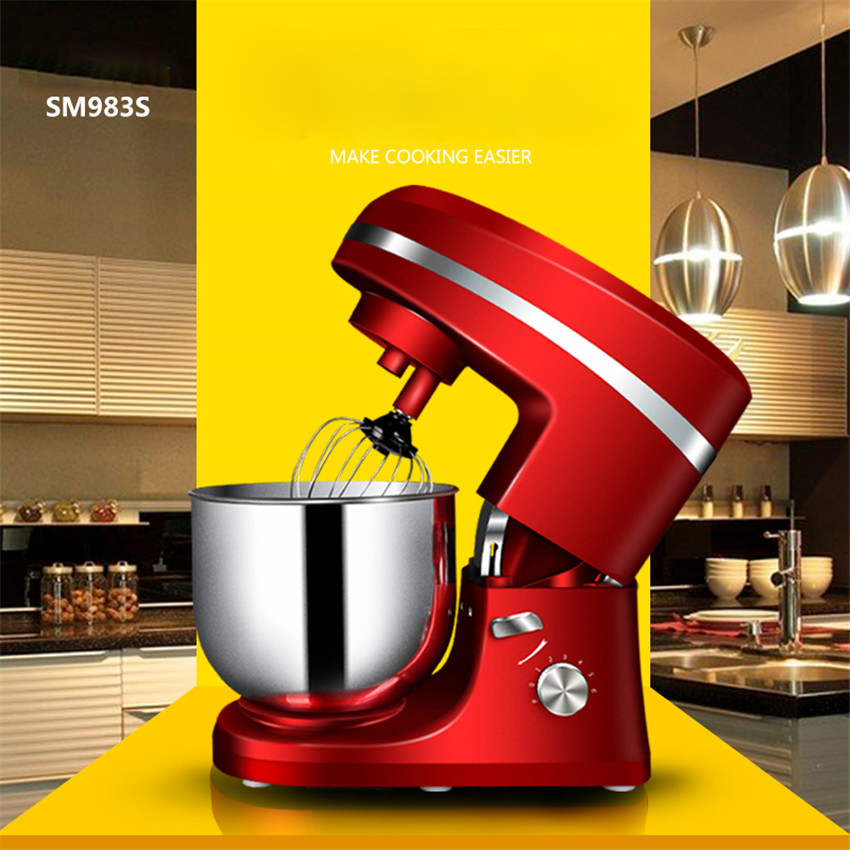 7 liters SM983S electric stand mixer food processor, blender, cake / egg / mixer, smoothies, milk mixer hot sale free shipping 7 liters electric stand mixer food mixer food blender cake egg dough mixer milk shakes milk mixer