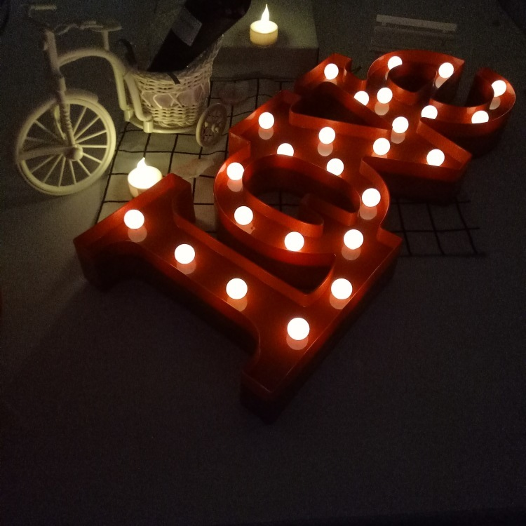 Love heart style Bedside Lamp Moon Star Cloud LED Night Light Room party Decoration For Babys Childrens Bedroom Battery AA