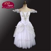White Fairy Ballet Tutu Dress Classical Ballet Tutu Dancewear Adult Beautiful Ballet Costumes Wholesale Hot Selling LD0008D