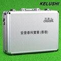 Caja de herramientas de hardware de red de fibra FTTH caja de herramientas de unión fría KELUSHI vacío placa De Aluminio Blanco