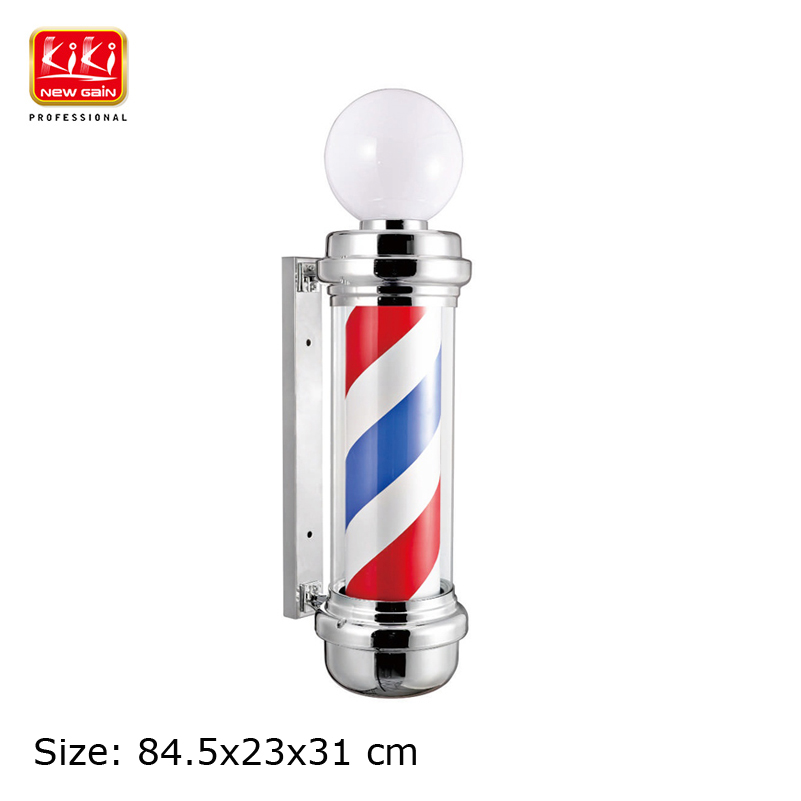 337D size Roating Barber Pole Salon Equipment Barber Sign Free Shipping Hot sell european style