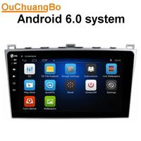 Ouchuangbo Android 6 0 Gps Radio Stereo For 10 1 Inch Mazda 6 2008 2012 With