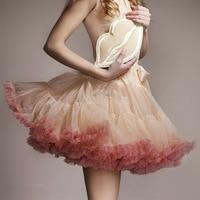 Sexy Skater Mini Skirts Tulle Skirt Party Extra Fluffy Adualt Women Pettiskirt Tutu Teenage Girl Party Dance Tutu Skirt