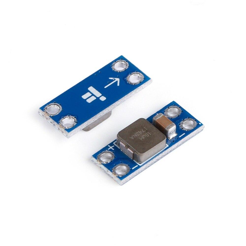 4 шт./лот 16x6 мм LC фильтр питания 2A 5-36V Модуль LC для передатчика устранение видео фильтрация сигналов для FPV Moire видео части