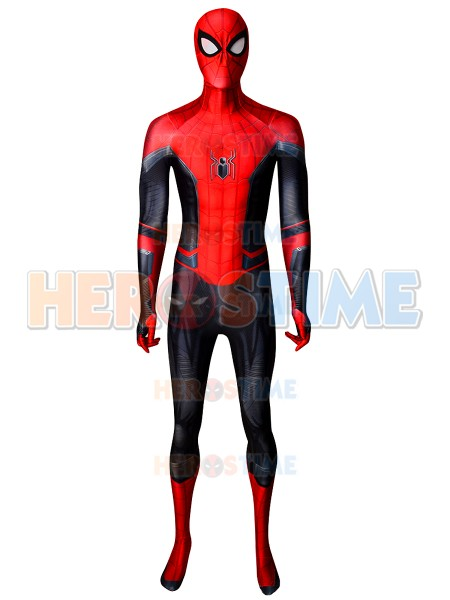 2019 New Spider Man Movie Spiderman Far from home Cosplay Costume Lycra Spandex 3D print Halloween