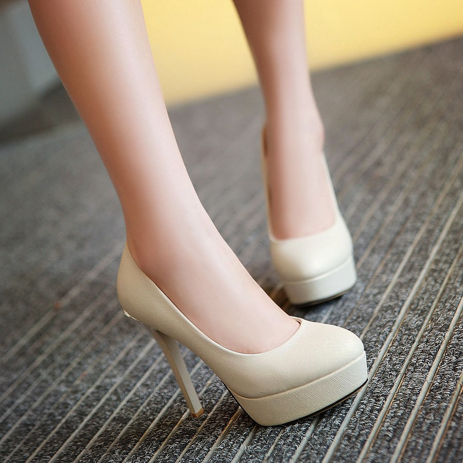 2015 ladies platforma formal shoes gold silver wedding high heels mujer sexy cute women party dresses bridal pumps B21-6