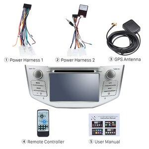 "Image 4 - Harfey 2Din الروبوت 8.0 7 ""راديو السيارة ل كزس RX 400 h RX 330 RX 350 RX 300 تويوتا هارير GPS الوسائط المتعددة لاعب رئيس وحدة"