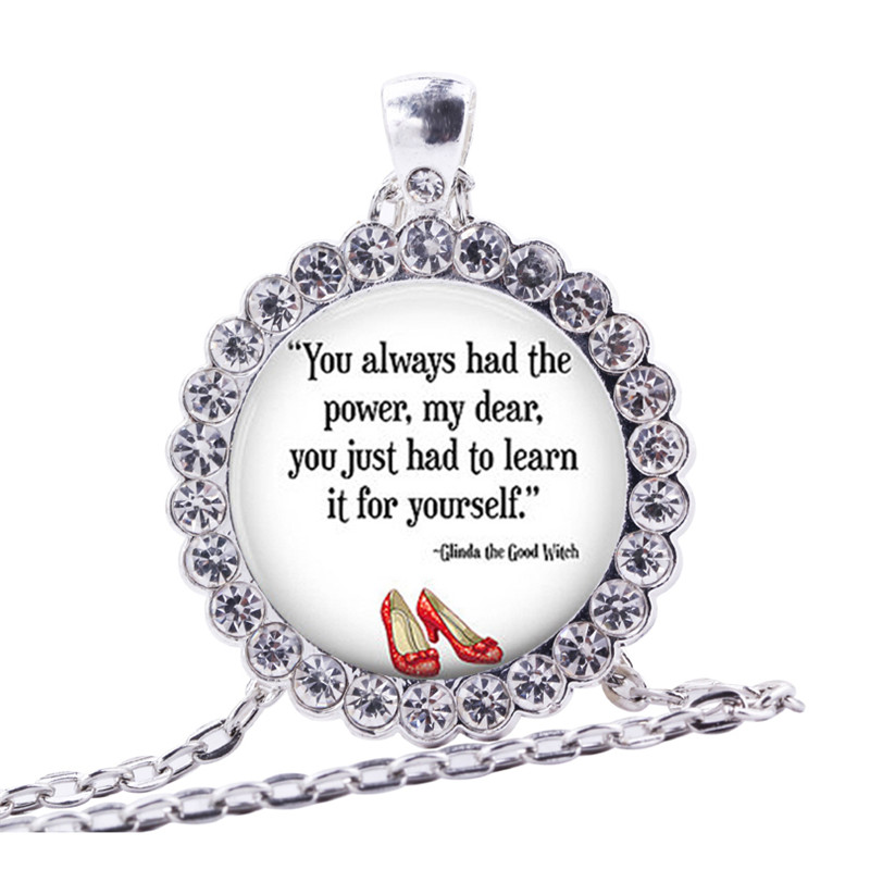 2ad6d9f934 You Always Had the Power Key Chain Wizard of Oz Metal Accessories ...