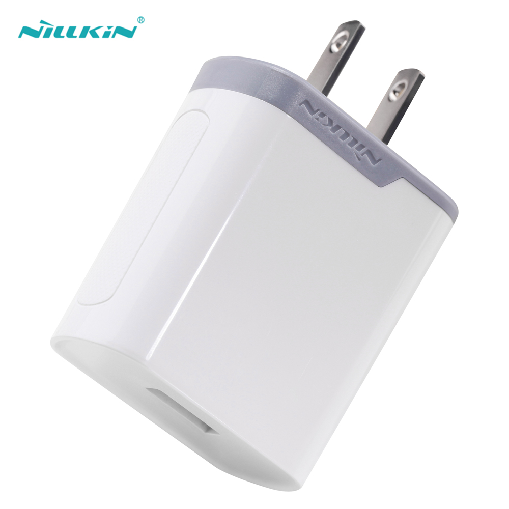 Nillkin New US Plug USB Charger Qualcomm Quick Charge 3.0 18W USA Travel Wall Mobile Fast Charger QC 3.0 Phone USB Adapter