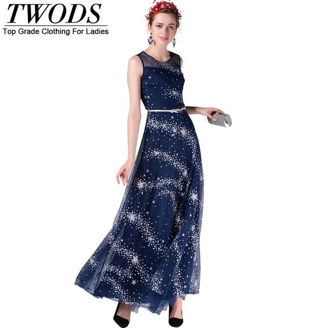 Fashion star dress sleeveless maxi top