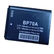 BP-70A BP 70A lithium batteries pack BP70A Digital camera battery For Samsung ST90 ST100 ST150F ST700 SL600 SL630 WB30F WB35F