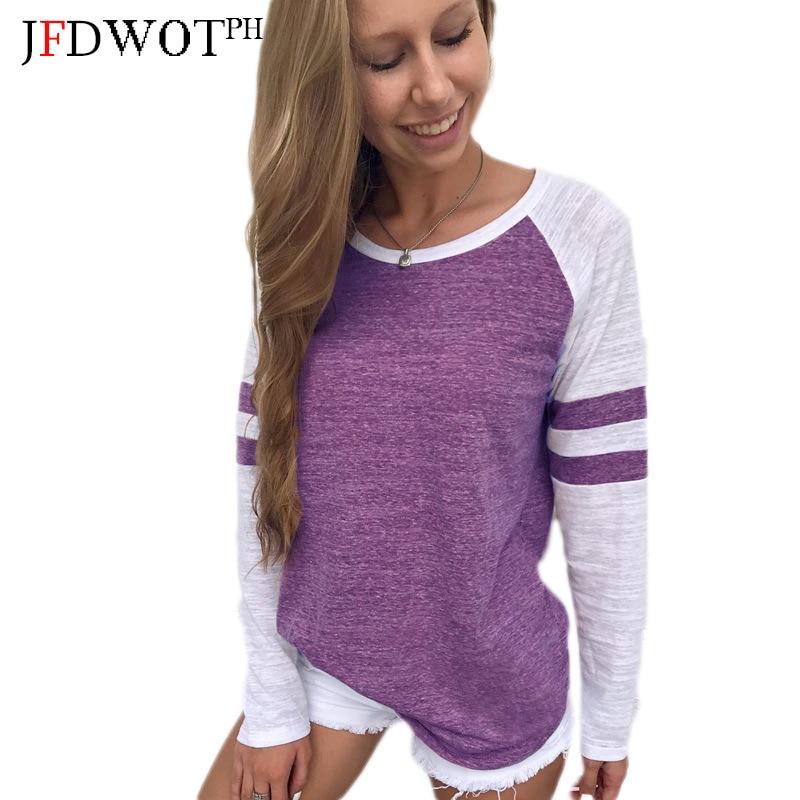 2017 Fashion Autumn Blouse Women Ladies Patchwork Long Sleeve Splice Blouse Tops Clothes Shirt Camisas Femininas