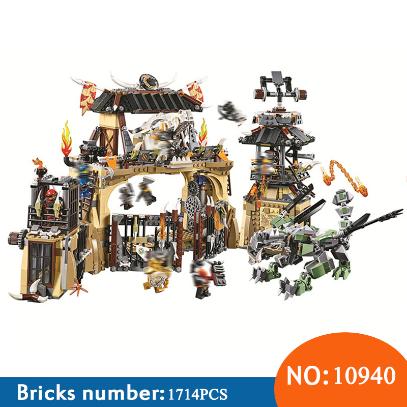 Bela 10940 Ninja Series Dragon Pit Dragon Master/Jay/Zane Building Block Bricks Toys For Children Compatible With 70655 free shipping bela 9788 ninja diy construction bricks toys for children