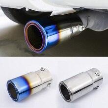 For Toyota Prado FJ150 2010 2011 2012 2013 2014 2015 2016 2017 2018 Stainless Steel Exterior Exhaust Muffler Tail Pipes