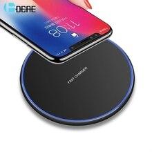 DCAE 15 Вт Qi Беспроводное зарядное устройство для samsung S9 S10 iPhone 11 Pro X XS MAX XR 8 для Xiaomi Mi 9 huawei P30 Pro 10 Вт Быстрая зарядка