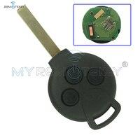 Remote key Fortwo Forfour 3 button 434mhz 267T 5WK45144 for Smart car key remtekey