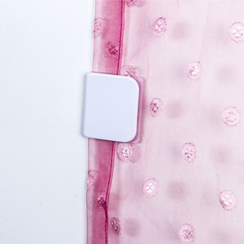 2pcs Magic Self Adhesive Anti Splash Shower Curtain Clips Anti