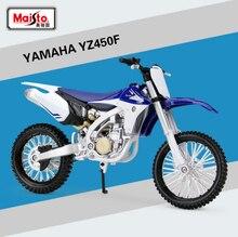 YAMAHA YZ450F Металлическая Модель литья под давлением, масштаб 1:12, мотоцикл, гоночные автомобили, игрушки, автомобиль, Moto GP, коллекция для мальчиков, подарки